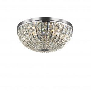 Ideal Lux - Diamonds - CALYPSO PL6 - Ceiling lamp - Chrome - LS-IL-066417