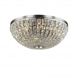 Ideal Lux - Diamonds - CALYPSO PL8 - Ceiling lamp - Chrome - LS-IL-066424