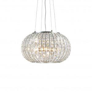 Ideal Lux - Diamonds - CALYPSO SP3 - Pendant lamp - Chrome - LS-IL-044194