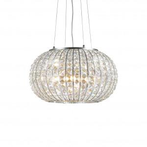 Ideal Lux - Diamonds - CALYPSO SP5 - Chandelier - Chrome - LS-IL-044200