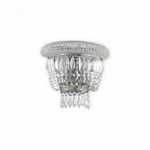 Ideal Lux - Diamonds - Dubai AP2 - Classic wall lamp in crystal - None - LS-IL-207155