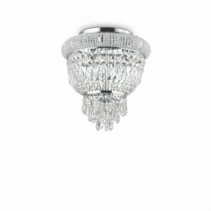 Ideal Lux - Diamonds - Dubai PL3 - Classic ceiling light in crystal - None - LS-IL-207162
