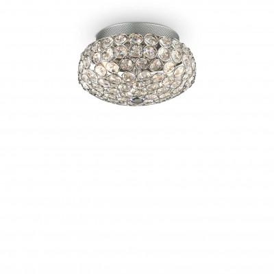 Ideal Lux - Diamonds - KING PL3 - Ceiling - Chrome - LS-IL-075389