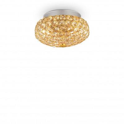 Ideal Lux - Diamonds - KING PL3 - Ceiling - Gold - LS-IL-075402