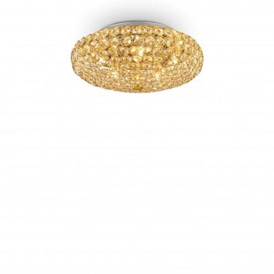 Ideal Lux - Diamonds - KING PL5 - Ceiling - Gold - LS-IL-073187