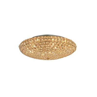 Ideal Lux - Diamonds - KING PL9 - Ceiling - Gold - LS-IL-073262