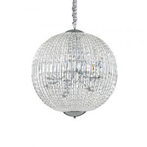 Ideal Lux - Diamonds - Luxor SP12 - Pendant lamp - Chrome - LS-IL-116235