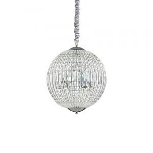 Ideal Lux - Diamonds - Luxor SP6 - Pendant lamp - Chrome - LS-IL-092911