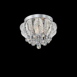 Ideal Lux - Diamonds - MOZART PL6 - Ceiling lamp - Chrome - LS-IL-073606