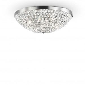 Ideal Lux - Diamonds - ORION PL12 - Ceiling lamp - Chrome - LS-IL-059129