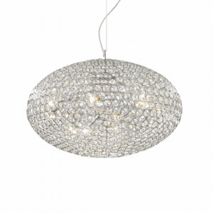 Ideal Lux - Diamonds - ORION SP12 - Pendant lamp - Chrome - LS-IL-066394
