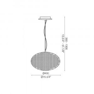 Ideal Lux - Diamonds - ORION SP6 - Pendant lamp