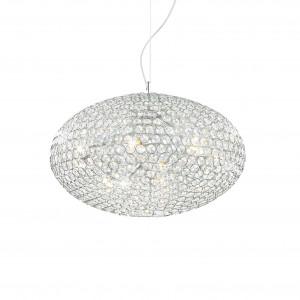 Ideal Lux - Diamonds - ORION SP8 - Pendant lamp - Chrome - LS-IL-066387