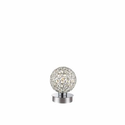 Ideal Lux - Diamonds - ORION TL1 - Table lamp - Chrome - LS-IL-059198