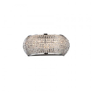 Ideal Lux - Diamonds - Pasha' AP3 - Elegant three-lights applique - Chrome - LS-IL-082264