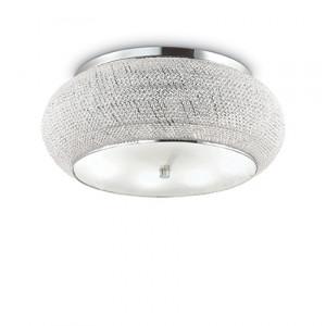 Ideal Lux - Diamonds - Pasha PL14 - Ceiling lamp - Chrome - LS-IL-164991