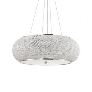 Ideal Lux - Diamonds - Pasha SP14 - Pendant lamp - Chrome - LS-IL-164977