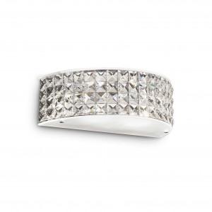 Ideal Lux - Diamonds - Roma AP2 - Hemispherical applique with crystals - Chrome - LS-IL-093086