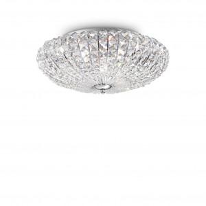 Ideal Lux - Diamonds - Virgin PL6 - Six-lights ceiling lamp - Chrome - LS-IL-016122