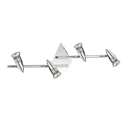 Ideal Lux - Direction - ALFA PB4 - Ceiling lamp - Chrome - LS-IL-089584