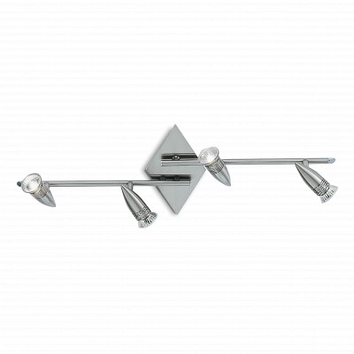 Ideal Lux - Direction - ALFA PB4 - Ceiling lamp - Satin-finished nickel - LS-IL-006321