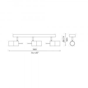 Ideal Lux - Direction - ELIS AP3 - Applique