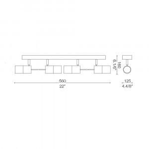 Ideal Lux - Direction - ELIS PL4 - Ceiling lamp