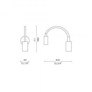 Ideal Lux - Direction - FLEX AP1 - Applique