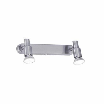 Ideal Lux - Direction - SLEM AP2 - Applique - Satin-finished nickel - LS-IL-018836
