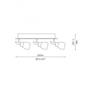 Ideal Lux - Direction - SOFFIO AP3 - Applique