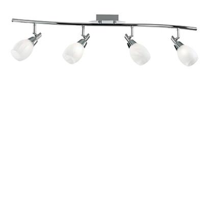 Ideal Lux - Direction - SOFFIO PL4 - Ceiling lamp - Chrome - LS-IL-075082