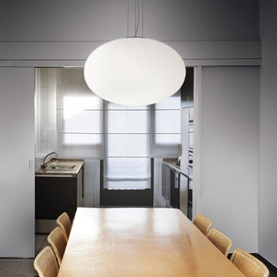 Ideal Lux - Eclisse - Candy SP1 D25 - Pendant lamp with blown glass diffuser
