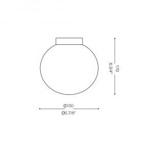 Ideal Lux - Eclisse - MAPA AP1 D15 - Applique