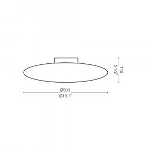 Ideal Lux - Eclisse - SMARTIES PL3 D50 - Ceiling