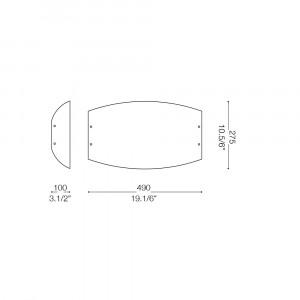 Ideal Lux - Essential - ALI PL4 - Ceiling lamp
