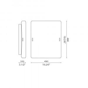 Ideal Lux - Essential - CELINE PL4 - Ceiling lamp