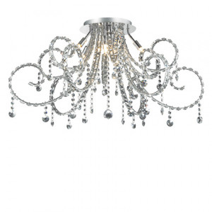 Ideal Lux - Fiore - Fiore PL10 - Elegant chandelier with crystals