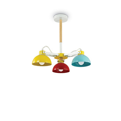 Ideal Lux Ti Pl3 Ceiling Lamp Light Ping
