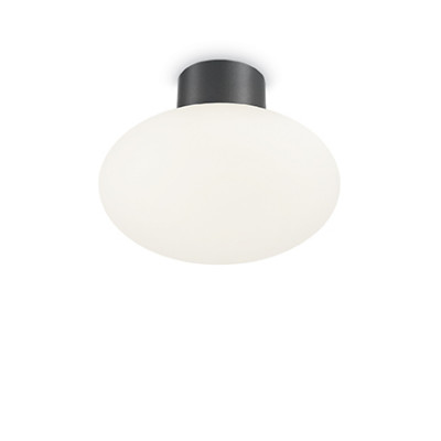 Ideal Lux - Garden - Armony PL1 - Ceiling lamp - Anthracite - LS-IL-149455