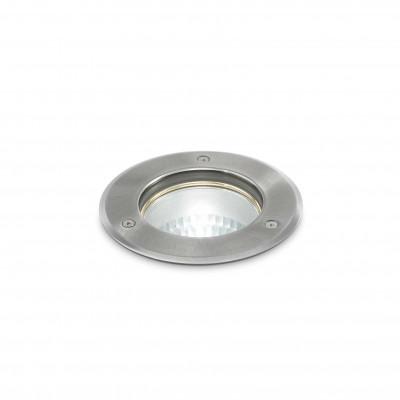 Ideal Lux - Garden - PARK PT1 MEDIUM - Garden lights - Satin-finished nickel - LS-IL-032825