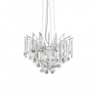 Ideal Lux - Luxury - AUDI-77 SP6 - Crystal chandelier - Chrome - LS-IL-019499