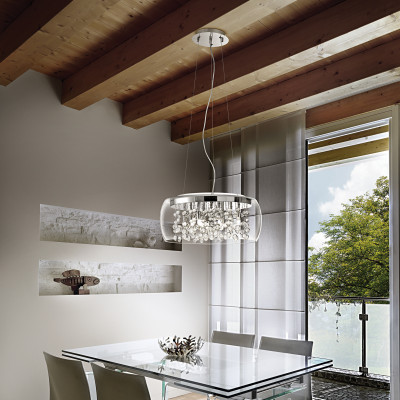 Ideal Lux - Luxury - AUDI-80 SP8 - Pendant lamp