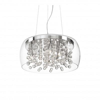 Ideal Lux - Luxury - AUDI-80 SP8 - Pendant lamp - Chrome - LS-IL-031750