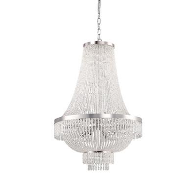 Ideal Lux - Luxury - Augustus SP12 - Pendant lamp - Chrome - LS-IL-112800