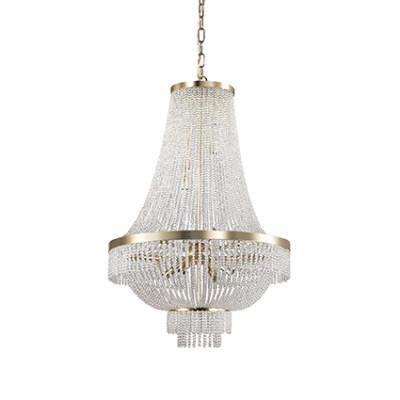 Ideal Lux - Luxury - Augustus SP12 - Pendant lamp - Gold - LS-IL-113197