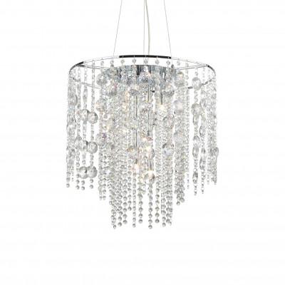 Ideal Lux - Luxury - EVASIONE SP10  - Pendant lamp - Chrome - LS-IL-044767
