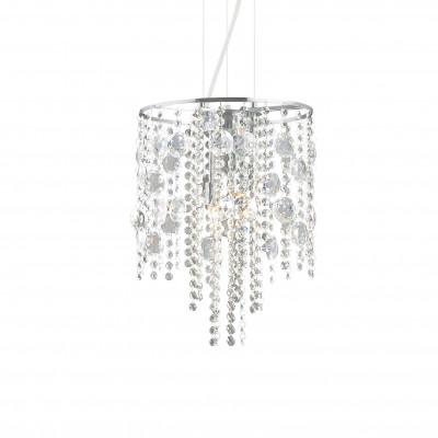 Ideal Lux - Luxury - EVASIONE SP4 - Pendant lamp - Chrome - LS-IL-062211
