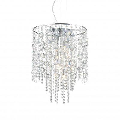 Ideal Lux - Luxury - EVASIONE SP8 - Pendant lamp - Chrome - LS-IL-044774