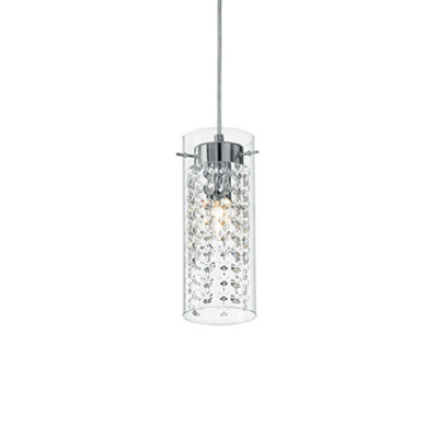 Ideal Lux - Luxury - IGUAZU' SP1 - Pendant lamp - Chrome - LS-IL-052359