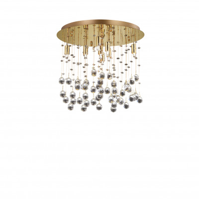 Ideal Lux - Luxury - MOONLIGHT PL8 - Ceiling lamp - Gold - LS-IL-080932